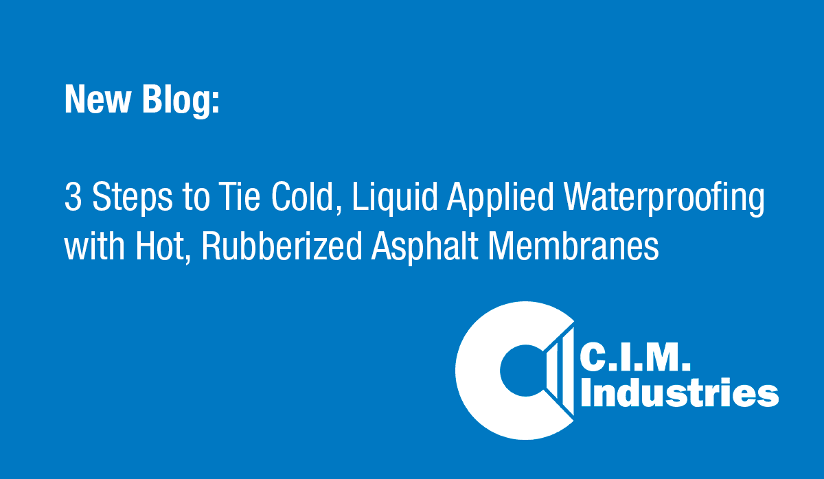 3 Steps to Tie Cold, Liquid Applied Waterproofing with Hot, Rubberized Asphalt Membranes-1