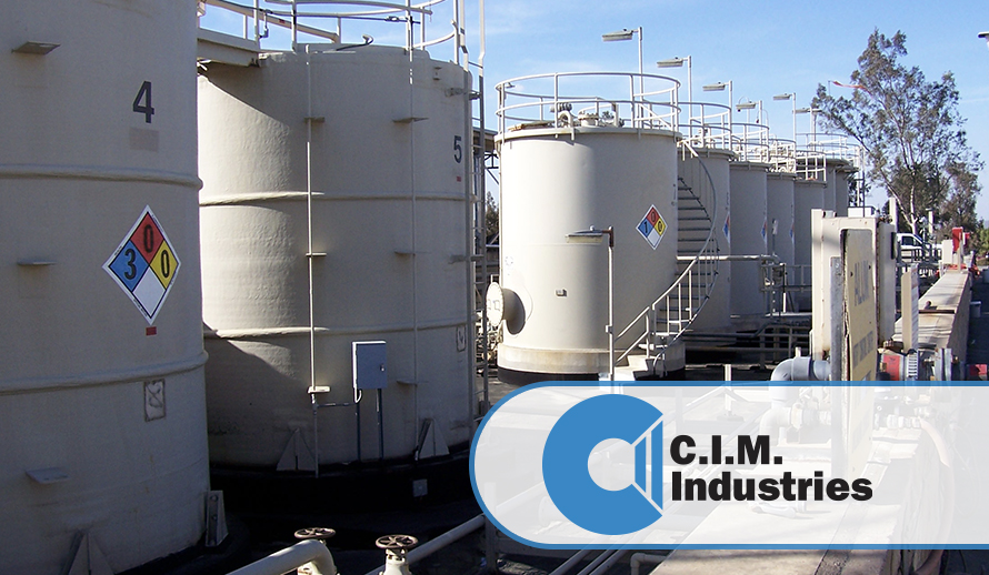 Biodisel storage silos