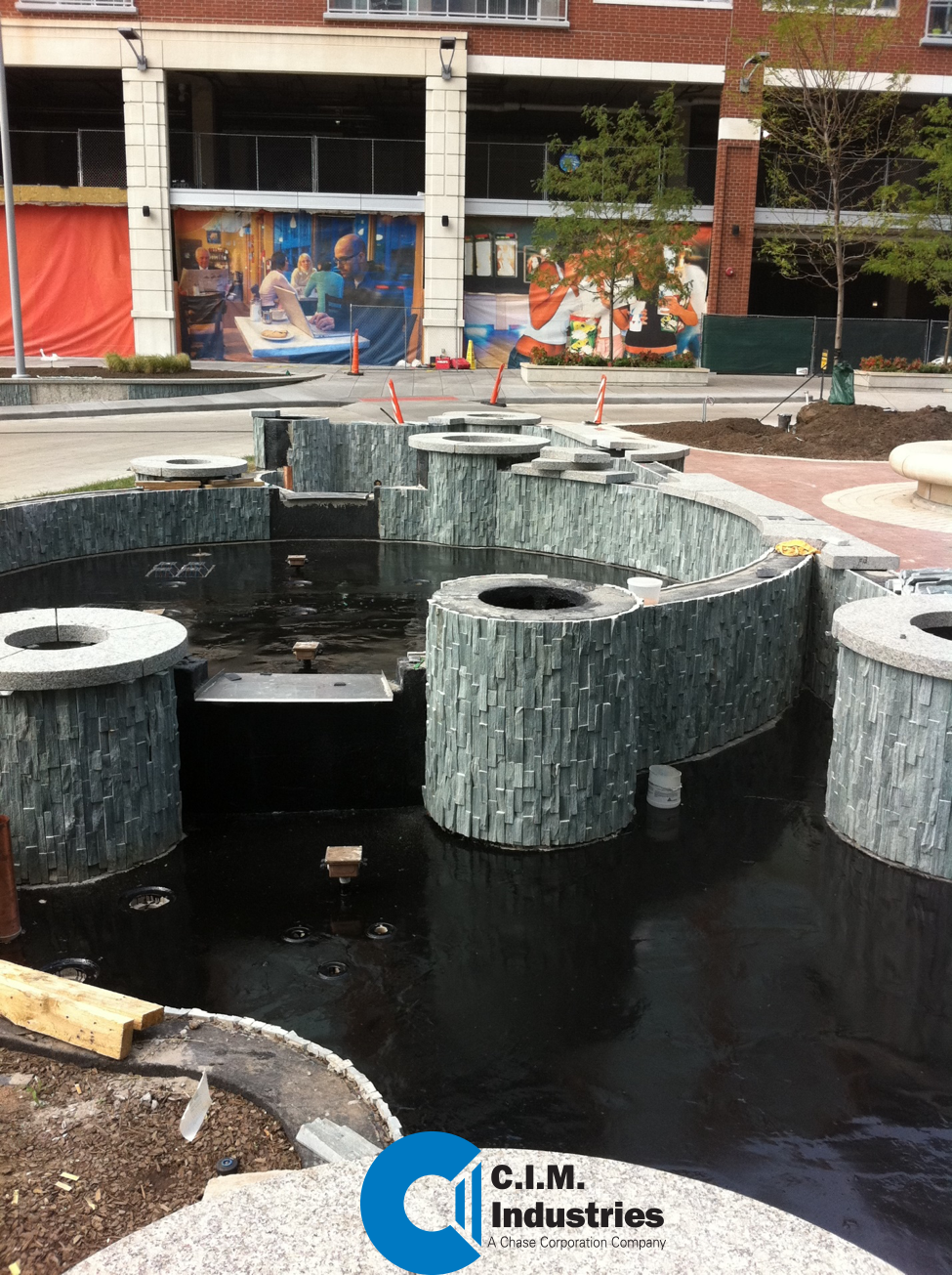 Preparing fountains membranes with CIM Industries products